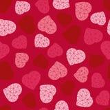 Valentine's Day background. Low-poly polygonal. Royalty Free Stock Photo