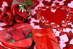 Valentine's Day Background Royalty Free Stock Photos