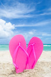 Valentine`s day background on the Miami beach Stock Photography