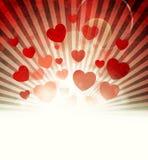 Valentine's Day. Background. Power of Love Stock Photo