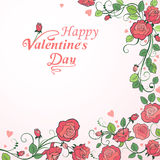 Valentine `s day background Stock Photography