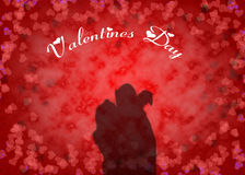 Valentine's day background Stock Photos