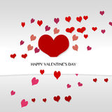 VALENTINE'S DAY. Background with ticket and heart  valentine's day Royalty Free Stock Images