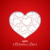 Valentine`s day background Stock Photo