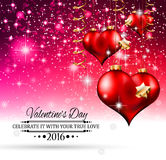 Valentine's Day Background for your love themed invitations, Stock Images