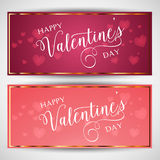 Valentine's day backgrounds Royalty Free Stock Photo