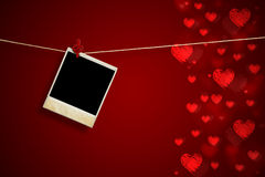Valentine's day backround Stock Images