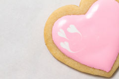 Valentine's Day Baking Royalty Free Stock Photography