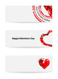 Valentine's Day banner Royalty Free Stock Photo