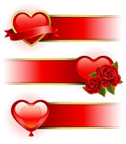 Valentine's Day  banners Stock Photography
