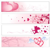 Valentine S Day Banners Royalty Free Stock Image