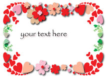Free Valentine S Day Border Royalty Free Stock Photography - 13002717
