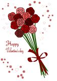 Valentine's day bouquet Royalty Free Stock Photography