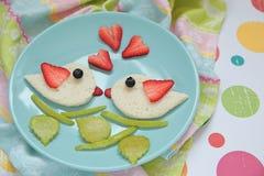 Valentine's day breakfast Stock Image