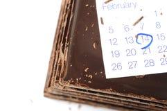 Valentine's Day, Calendar Stock Photos