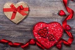 Valentine's Day candies Stock Image
