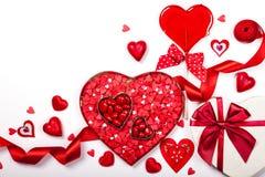 Valentine's Day candies Stock Photos