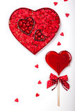 Valentine's Day candies Stock Images