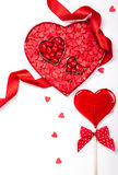 Valentine's Day candies Royalty Free Stock Photos