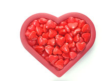 Valentine's day candy Stock Photos
