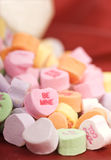 Valentine's Day candy Stock Images