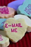 Valentine's Day Candy Hearts Royalty Free Stock Photo