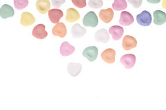 Valentine's Day Candy Hearts Stock Photography