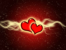 Valentine's day card Royalty Free Stock Photography