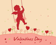Valentine`s day card Stock Photos