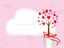 Valentine's day card. Royalty Free Stock Photo