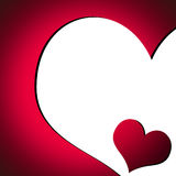 Valentine's Day Card 2 stock image