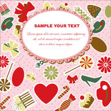 Valentine`s Day card Royalty Free Stock Photo