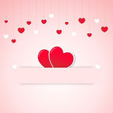 Valentine's Day Card Royalty Free Stock Photos