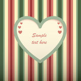 Valentine's day  card. Royalty Free Stock Image
