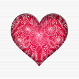 Valentine`s day card Stock Photo