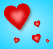 Valentine's day card Royalty Free Stock Photo