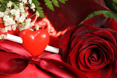 Valentine's day card. Stock Image