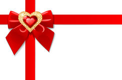 Valentine's day card. Vector design elements Royalty Free Stock Image