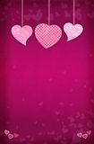 Valentine's Day Card Background Royalty Free Stock Photography