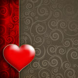 Valentine's Day Card background Stock Photography