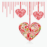 Valentine's Day card. Royalty Free Stock Images