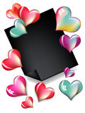 Valentine's Day Card Design Royalty Free Stock Photos