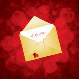 Valentine's day card design Royalty Free Stock Image