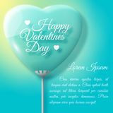 Valentine's Day Card. Design concept Stock Images
