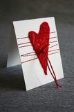 Valentine`s Day Card Stock Photo