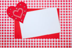 Valentine`s Day card . Stock Images