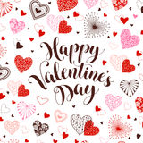 Valentine`s Day card Royalty Free Stock Images