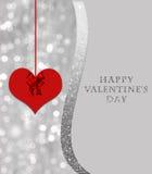 Valentine`s day card Stock Photos