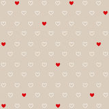 Valentine`s day card Royalty Free Stock Photos