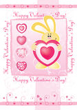 Valentine's day card. vector Stock Photo